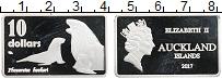 Изображение Монеты Новая Зеландия 10 долларов 2017 Посеребрение Proof
