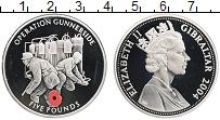 Изображение Монеты Гибралтар 5 фунтов 2004 Серебро Proof Елизавета II. Вторая