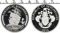 Изображение Монеты Сейшелы 10 рупий 2015 Серебро Proof Корабль Памир