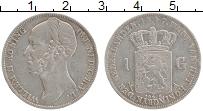 Изображение Монеты Нидерланды 1 гульден 1847 Серебро XF Виллем II