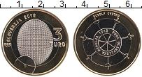 Продать Монеты Словения 3 евро 2012 Биметалл