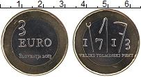 Продать Монеты Словения 3 евро 2013 Биметалл