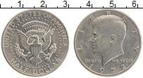 Изображение Монеты США 1/2 доллара 1972 Медно-никель UNC-