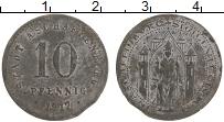 Изображение Монеты Германия : Нотгельды 10 пфеннигов 1917 Цинк VF Ашафенбург
