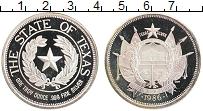 Изображение Монеты США 1 унция 1986 Серебро Proof- Штат Техас