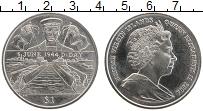Изображение Монеты Виргинские острова 1 доллар 2004 Медно-никель XF Елизавета II.День Д