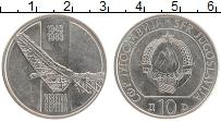 Изображение Монеты Югославия 10 динар 1983 Медно-никель XF 50 лет восстания Нер