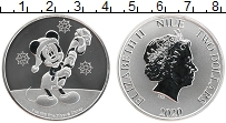 Изображение Монеты Ниуэ 2 доллара 2020 Серебро Proof Елизавета II. Микки
