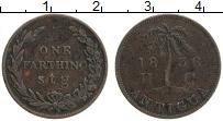 Продать Монеты Антигуа и Барбуда 1 фартинг 1836 Медь