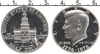 Изображение Монеты США 1/2 доллара 1976 Серебро UNC- S. 200 лет независим