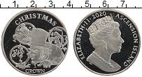 Изображение Монеты Остров Вознесения 1 крона 2020 Медно-никель UNC Елизавета II. Рождес