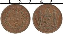 Продать Монеты Борнео 1 цент 1889 Медь