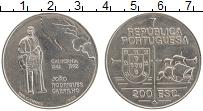 Изображение Монеты Португалия 200 эскудо 1992 Медно-никель XF 450 лет открытие Кал