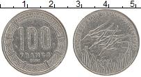 Изображение Монеты Центральная Африка 100 франков 2003 Медно-никель VF