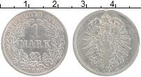 Изображение Монеты Германия 1 марка 1880 Серебро XF D
