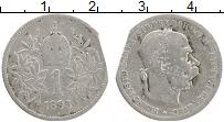 Изображение Монеты Австрия 1 крона 1895 Серебро VF Франц Иосиф I