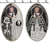 Изображение Монеты Ниуэ 1 доллар 2011 Серебро Proof Собор Святого Креста