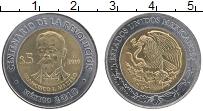 Изображение Монеты Мексика 5 песо 2010 Биметалл UNC- 100 лет революции, Ф