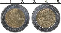 Изображение Монеты Мексика 5 песо 2008 Биметалл UNC- 100 лет революции, Р