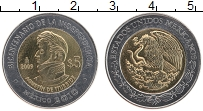 Изображение Монеты Мексика 5 песо 2009 Биметалл UNC- 200 лет Независимост