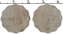 Изображение Монеты Индия 1 анна 1946 Медно-никель VF Георг VI