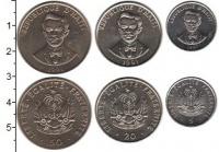 Изображение Наборы монет Гаити Гаити 1991-1997 0 Медно-никель UNC-
