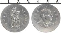 Изображение Монеты Ирландия 10 шиллингов 1966 Серебро XF 50-летие Пасхального
