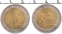 Изображение Монеты Польша 2 евро 0 Биметалл UNC Проба. UNUSUAL