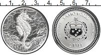 Изображение Монеты Самоа 2 тала 2020 Серебро Proof Морской конёк