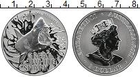 Изображение Монеты Австралия 1 доллар 2021 Серебро UNC Елизавета II. Больша