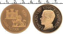 Изображение Монеты Гибралтар 1 крона 1936 Бронза UNC UNUSUAL. Эдуард VIII