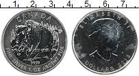 Изображение Монеты Канада 5 долларов 2013 Серебро UNC Елизавета II. Бизон
