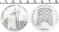 Изображение Монеты Южная Корея 1 клэй 2019 Серебро UNC Чи Ю