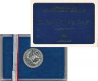 Изображение Подарочные монеты Франция 100 франков 1984 Серебро UNC