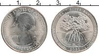 Изображение Монеты США 1/4 доллара 2020 Медно-никель UNC-