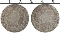 Изображение Монеты Австрия 20 крейцеров 1809 Серебро XF Франц