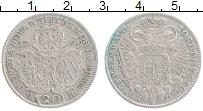 Продать Монеты Нюрнберг 20 крейцеров 1769 Серебро