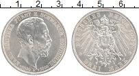 Продать Монеты Шварцбург-Зондерхаузен 3 марки 1909 Серебро