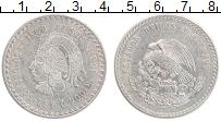 Изображение Монеты Мексика 5 песо 1948 Серебро UNC-