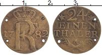 Изображение Монеты Пруссия 1/24 талера 1782 Серебро VF А. Фридрих II