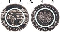 Изображение Монеты Германия 5 евро 2020 Медно-никель UNC A. Климатические зон