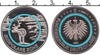 Изображение Монеты Германия 5 евро 2020 Медно-никель UNC G. Климатические зон