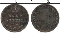 Изображение Монеты Великобритания 1/2 фартинга 1847 Медь XF Виктория