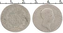 Изображение Монеты Пруссия 1/6 талера 1813 Серебро VF Фридрих Вильгельм II
