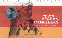 Изображение Подарочные монеты Австралия 50 центов 2020 Медно-никель UNC Экспедиция каравана