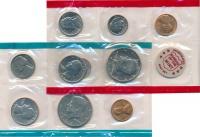 Изображение Подарочные монеты США Набор 1971 года 1971  UNC