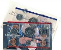 Изображение Подарочные монеты США Набор 1989 года 1989  UNC