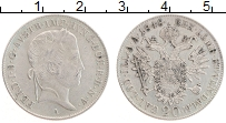 Изображение Монеты Австрия 20 крейцеров 1848 Серебро XF Фердинанд I