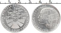 Изображение Монеты Италия 500 лир 1985 Серебро UNC- Итальянское президен