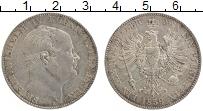 Изображение Монеты Пруссия 1 талер 1859 Серебро XF+ А Фридрих Вильгельм